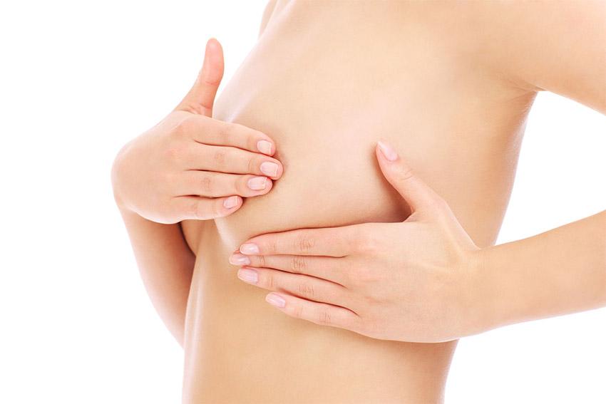 Untersuchung per Mammografie